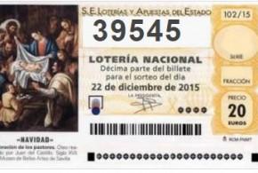 Lotería de Navidad 2015 – Ya a la venta AQUI